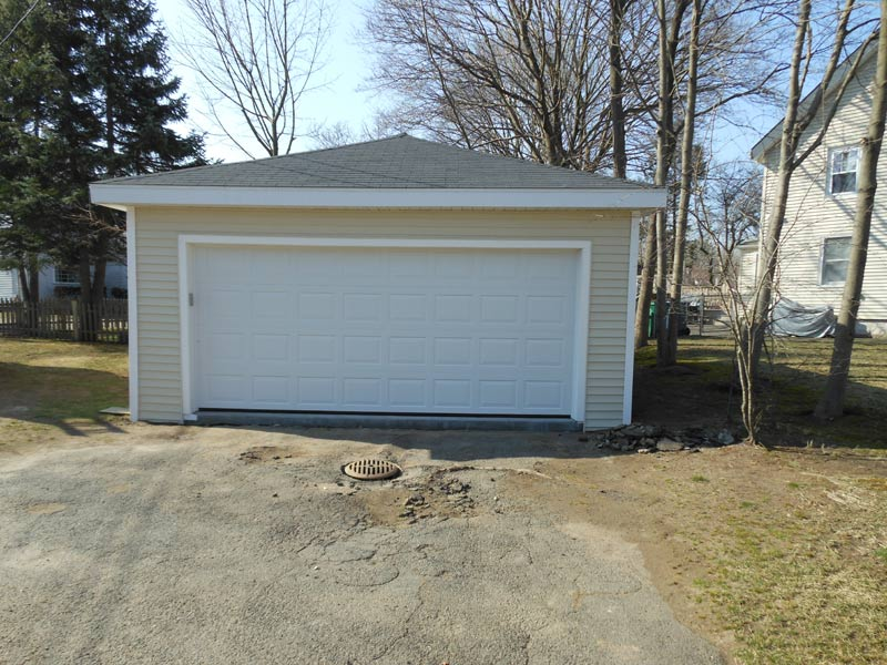 Garage work by Summit Home Builders & Remodeling