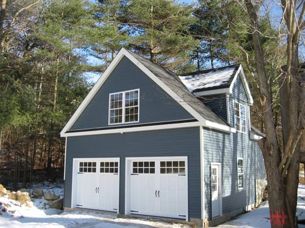 Garage addition by Summit Home Builders & Remodeling