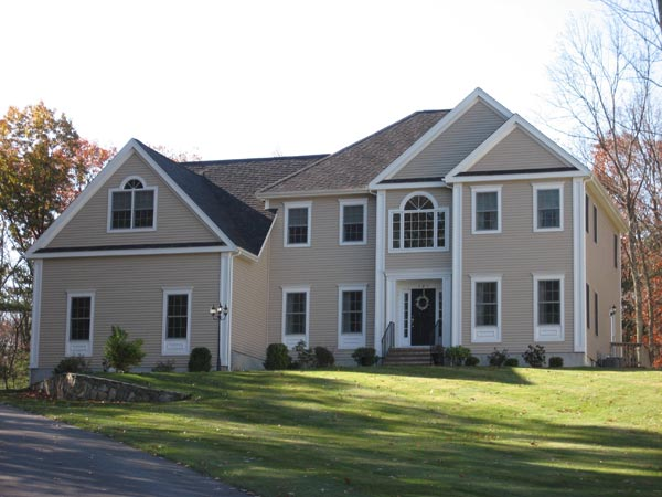 New home constructed by Summit Home Builders & Remodeling of Medway, MA